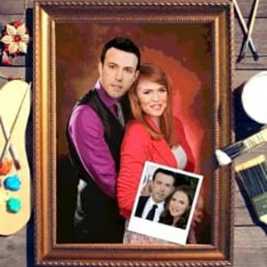 Фото - Парный портрет по фото *Влюбленная пара* парный портрет по фото влюбленная пара