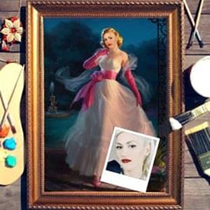 Портрет по фото *Золушка* раннее развитие айрис пресс волшебный театр золушка