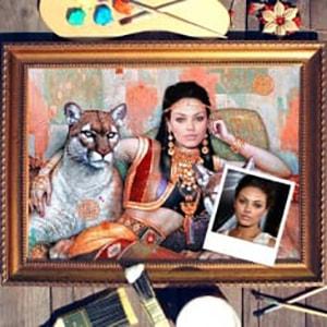 Фото - Портрет по фото *Восточная принцесса* фото