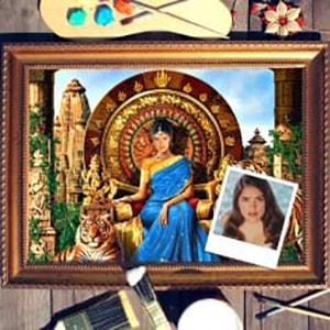 Портрет по фото *Индианка*