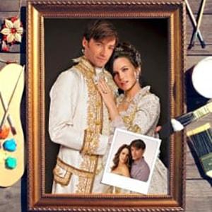 Фото - Парный портрет по фото *Роскошная пара* парный портрет по фото влюбленная пара