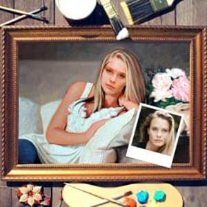 Фото - Портрет по фото *На диване* портрет по фото на охоте