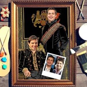 Фото - Парный портрет по фото *Братья* парный портрет по фото влюбленная пара