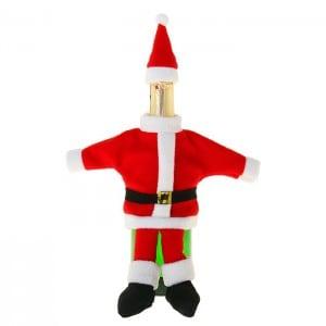 Одежда для бутылки Дед Мороз