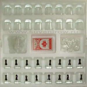 Шахматы рюмки (три в одном)