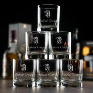 Большой набор бокалов для виски Именной цена