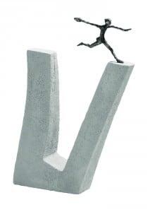 """Скульптурная композиция """"Преодолевая трудности"""""""