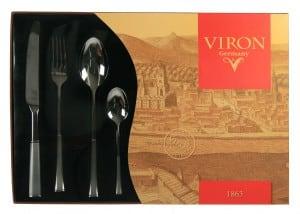 Набор столовых приборов *VIRON* аксессуар для алкоголя akso набор подарочный коньячный на 4 персоны 138ки4