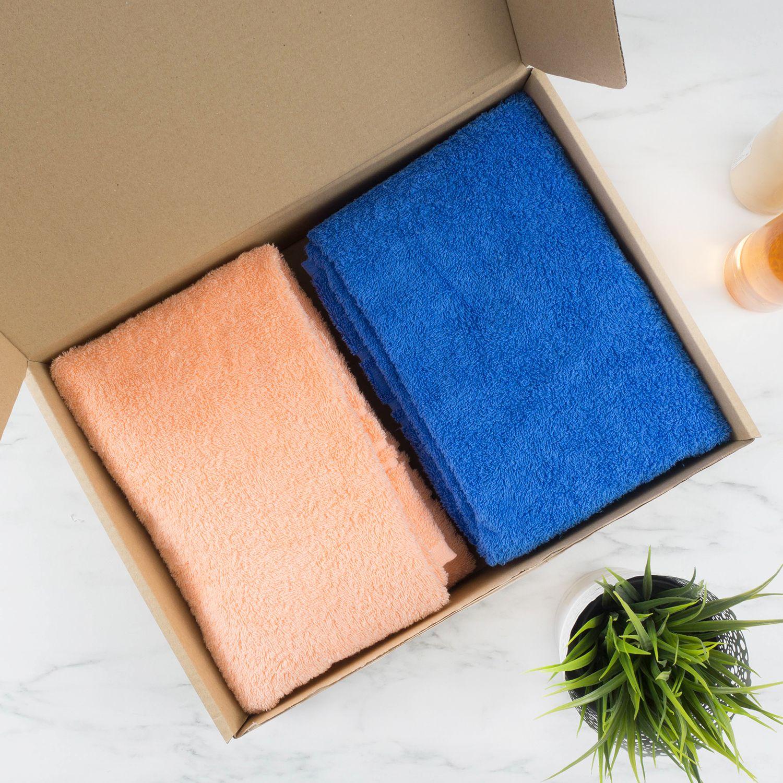 Комплект полотенец с вышивкой «Мужчина и Женщина» (цветные)