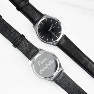 Наручные часы Silver с гравировкой