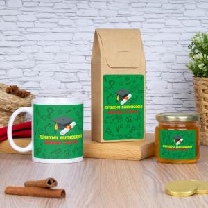 Кружка с чаем и медом «Выпускник»