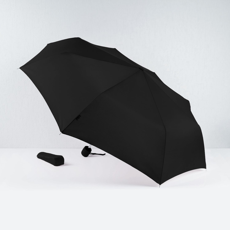 """Зонт """"Black"""" с гравировкой инициалов"""