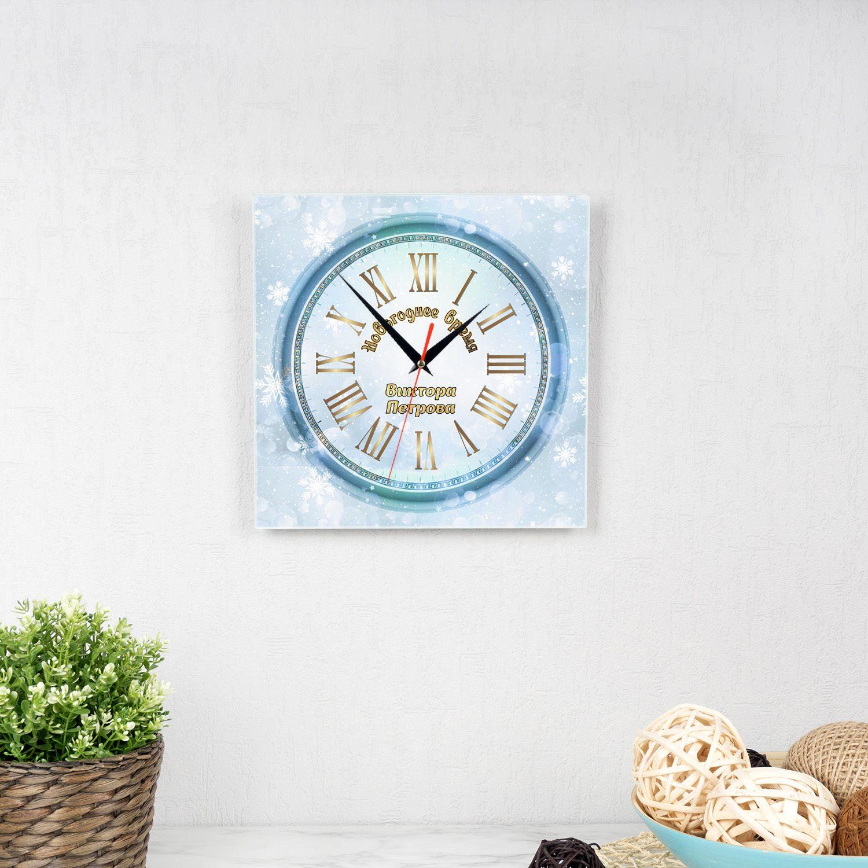 Часы квадро