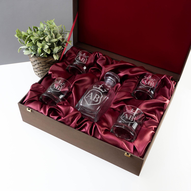 Подарочный набор Манчестер с инициалами