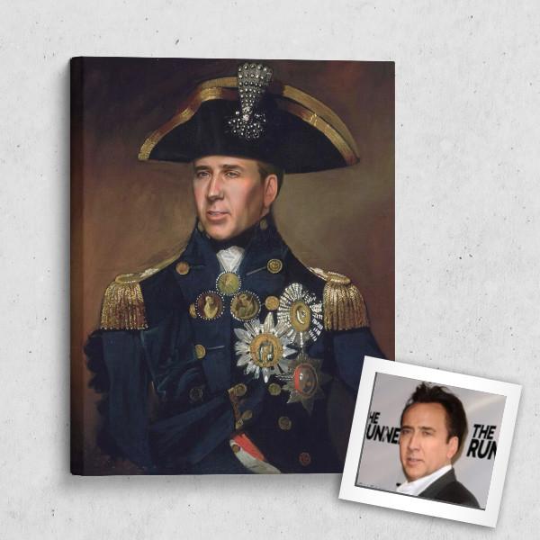 Портрет по фото *Адмирал*