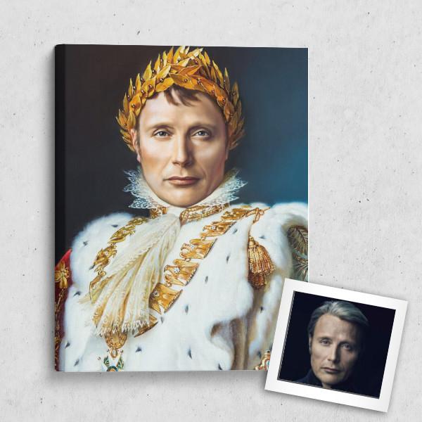 Портрет по фото *Император* мужчине