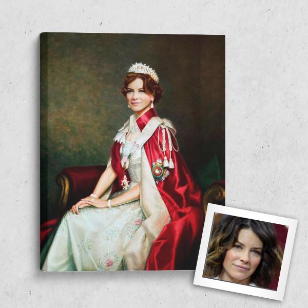 Портрет по фото *Королевская особа*